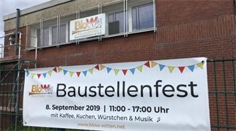 Das Symphonische Blasorchester Witten feiert 2. Baustellenfest